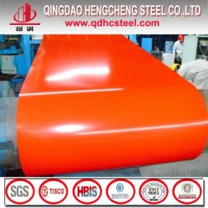Dx52D PPGI Color Coated Galvanized Sheet Metal Roofing Rolls pictures & photos