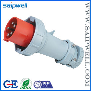 CE IP67 3p+N+E Single Phase Industrial Socket (SP1114)