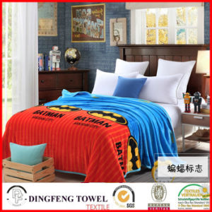 2016 New Season Coral Fleece Blanket with Printed Df-8838 pictures & photos