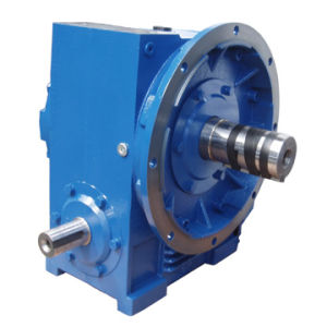 Hollow Shaft Cone Worm Gearbox with Solid Input Shaft pictures & photos