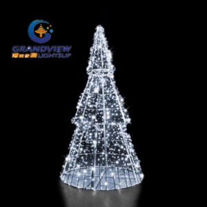 White 3D Pine LED Christmas Tree pictures & photos