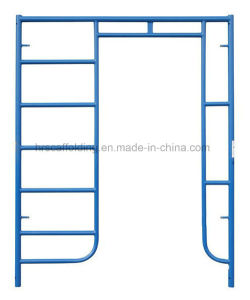"5′*6′4"" Scaffolding Ladder&Walk Thru Frame System pictures & photos"