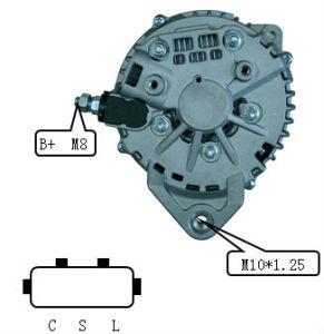 12V 110A Alternator for Hitachi Nissan Lester 11121 Lr1110725b pictures & photos