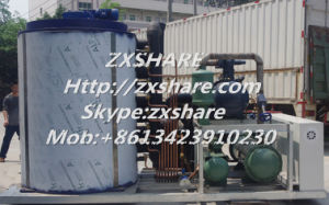 25t Per Day Seawater Flake Ice Machine for Fishery Industrial