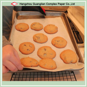 Ovenable Siliconized Parchment Paper Cookie Sheet Liner pictures & photos