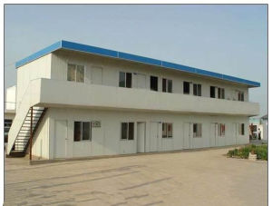 Double Storey EPS Sandwich Panel Prefab House pictures & photos
