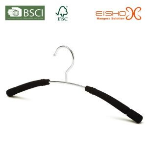 Metal Rubber Foam Hangers for Coat pictures & photos