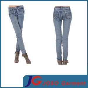 Fresh Style Skinny Girl Jeans for Boots Pants (JC1206) pictures & photos