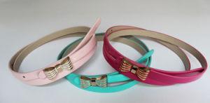 Women′s Fashion Skinny Belt Zb4040