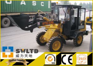 Swltd Brand 800kg Rate Lifting Power Wheel Loader pictures & photos