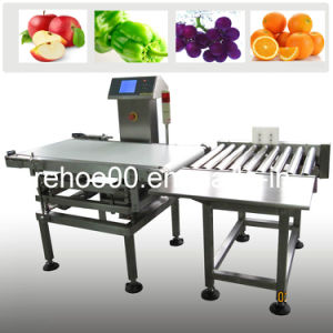 Cwc-500ns Online Checkweigher/ Weighing Scale for Fruit (100g-40kg) pictures & photos