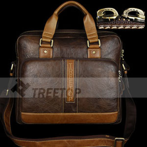 "Genuine Leather Bag for 13"" Laptops (LAPUHABR76)"