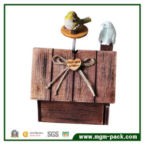 Decoratitive Bird House Wooden Music Box for Gift pictures & photos