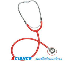 Dual Head Stethoscope for Adult with PVC Ring pictures & photos