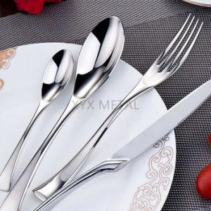 Top End Hotel Restaurant 18/10 Stainless Steel Luxury Tableware Dinnerware Sets Cutlery Flatware pictures & photos