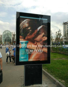 Double Side Free Standing Scrolling Signage pictures & photos