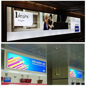 New Fabric Frameless Advertising Display LED Light Box pictures & photos