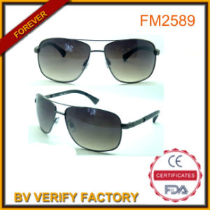 Wholesale Classic Metal Pilot Sunglasses in 5 Colours China pictures & photos