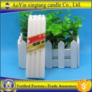 1.2*14 Smokeless Votive White Candle Factory pictures & photos