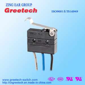 Waterproof Mini Micro Switch with Long Wire pictures & photos