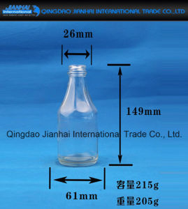 Transparent Glass Bottle Glassware for Sesame Oil pictures & photos
