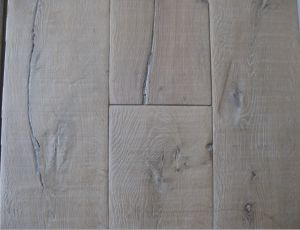 Rustic Style Wooden Parquet / Oak Engineered Wood Flooring pictures & photos