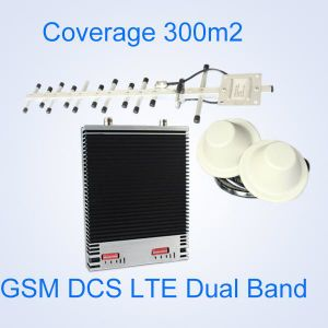 Dual Band Dcs WCDMA 3G4g Signal Booster, 1800 2100MHz Dual Band Signal Repeater, 3G Lte Signal Amplifier