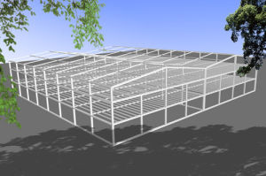 H Section Steel Framed Structure Building pictures & photos