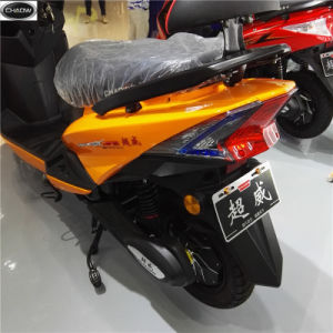72V-30ah-1200W Black Fashionable: Electric Motorcycles/Electric Scooters pictures & photos