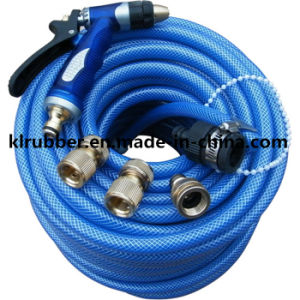 Top Quality PVC Reinforced Garden Water Hose pictures & photos