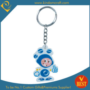Supply Promotional PVC Key Chain, Rubber Keychain (KD0598) pictures & photos