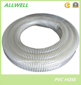 "PVC Suction Spiral Garden Discharge Water Irrigation Hose Pipe 2"" pictures & photos"
