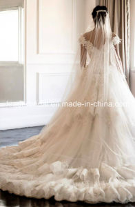 off Shoulder Lace Wedding Dress Fashion Vestidos Luxury Bridal Ball Gown Yasmine Ld11530 pictures & photos