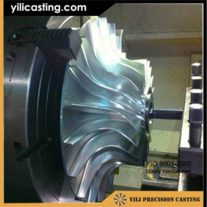 CNC Machining Aluminum Alloy 126X1659-1 Compressor Wheel Impeller for Diesel Locomotive