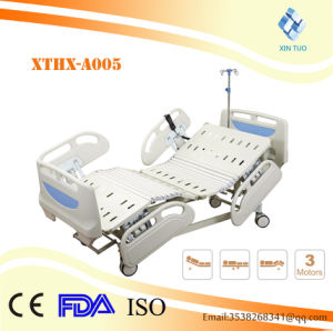 Multi-Function Full Auto Three Function Hospital Bed for Patients pictures & photos