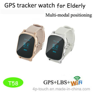 Adult Personal GPS Tracker Watch with Calling Function (T58) pictures & photos