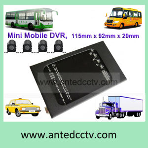 4 Channel 4G 3G WiFi GPS Black Box Mobile DVR for Car Monitoring pictures & photos