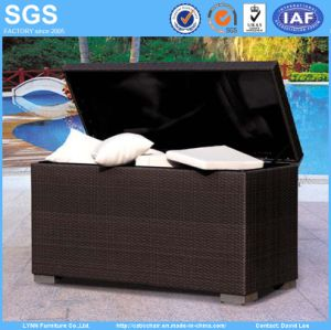 Garden Outdoor Furniture Wicker Rattan Cushion Storage Box pictures & photos