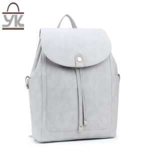 2017 New Style Fashion PU Leather Unisex Backpack pictures & photos