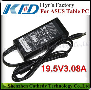 Table PC Adaptor Charger for Asus 19V 3.08A, 3.0x1.0mm