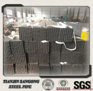 Q235 Black Welded Steel Square Tube pictures & photos