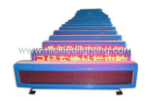 Taxi Roof LED Moving Message Sign for Outdoor pictures & photos