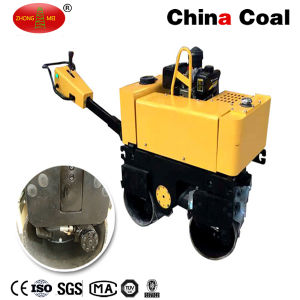 Diesel Electric Start Double Wheel Hydraulic Hand Vibratory Road Roller pictures & photos