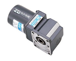 Single Phase Right Angle Electric AC Gear Motor--Worm Gear pictures & photos