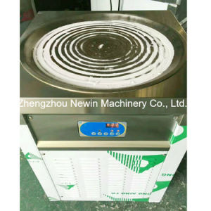 Single Round Pan Commercial Fried Ice Cream Making Machine for Sale pictures & photos
