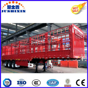 Stake Semitrailer with Side Wall pictures & photos
