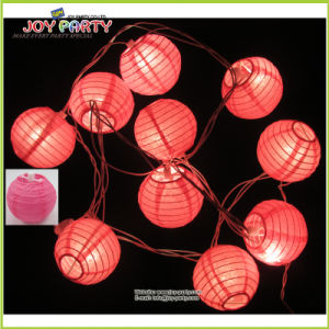 "3"" Paper Lantern String Light for Wedding Decoration"