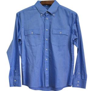 Men′s Formal Businees Long Sleeve Shirt (XDL15029)