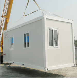 Folding Cntainer House for Railway Workers pictures & photos