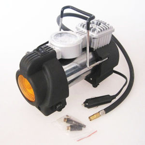 DC12V 150psi Mini with LED Light Car Air Pump pictures & photos